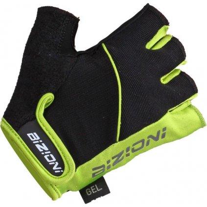 Cyklistické rukavice LASTING Gs33 žluté