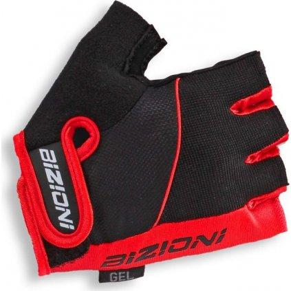 Cyklistické rukavice LASTING Gs33 červené