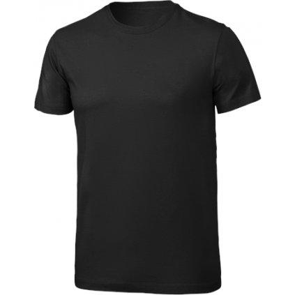 Pánské bavlněné triko KLIMATEX Cotty černá