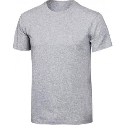 Pánské bavlněné triko KLIMATEX Cotty šedá