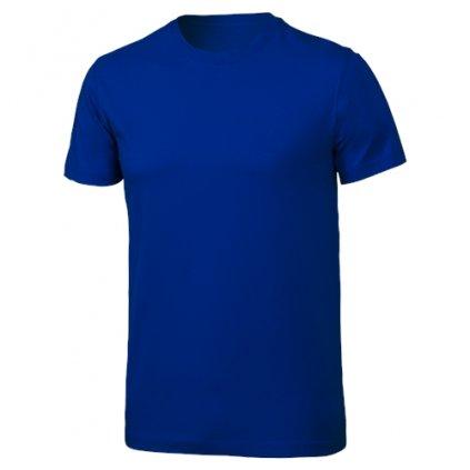 Pánské bavlněné triko KLIMATEX Cotty modrá