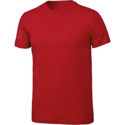 Pánské bavlněné triko KLIMATEX Cotty červená