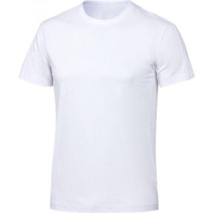 Pánské bavlněné triko KLIMATEX Cotty bílá