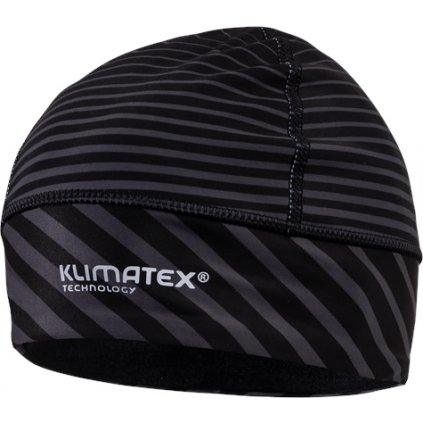 Běžecká čepice KLIMATEX Machar černá