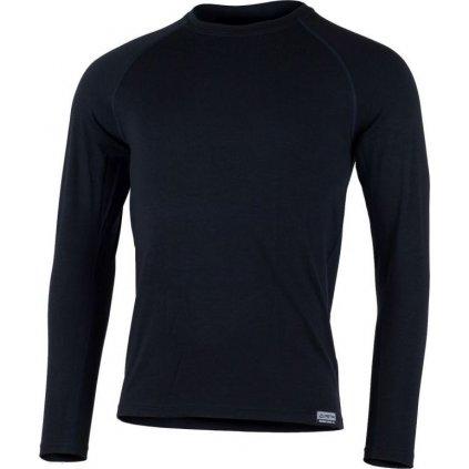Pánské merino triko LASTING Atar modré