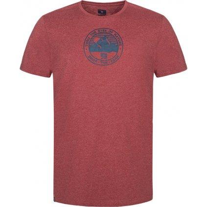 Pánské bavlněné triko LOAP Bede červená