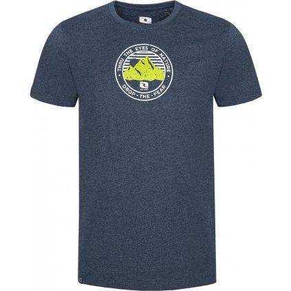 Pánské bavlněné triko LOAP Bede modrá