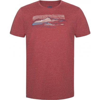 Pánské bavlněné triko LOAP Beamer červená