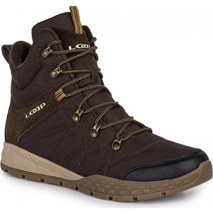Pánské zimní boty LOAP Basin hnědá