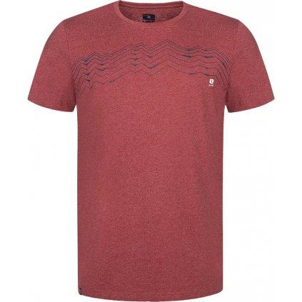 Pánské bavlněné triko LOAP Bengal červená