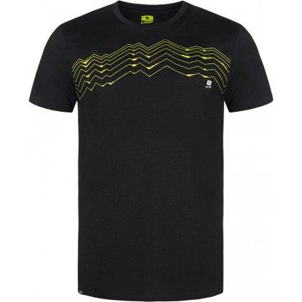 Pánské bavlněné triko LOAP Bengal černá