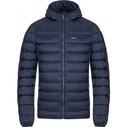 Pánská péřová bunda LOAP Ipren modrá