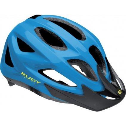 Cyklistická helma RUDY Rocky modrá