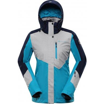 Dámská lyžařská bunda ALPINE PRO Sardara 4 modrá/šedá