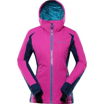 Dámská lyžařská bunda ALPINE PRO Mikaera 4 růžová