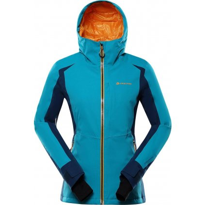 Dámská lyžařská bunda ALPINE PRO Mikaera 4 modrá