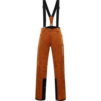Dámské lyžařské kalhoty ALPINE PRO Anapa 3 oranžová