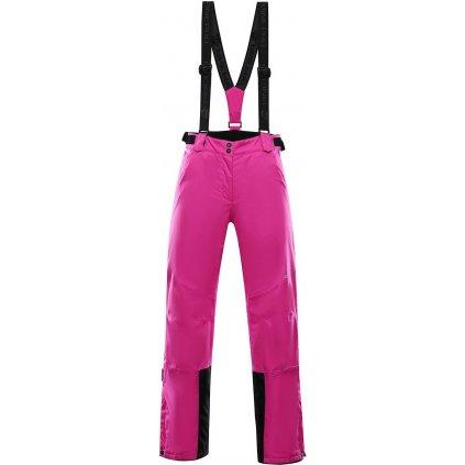 Dámské lyžařské kalhoty ALPINE PRO Anika 2 růžová
