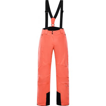 Dámské lyžařské kalhoty ALPINE PRO Anika růžová