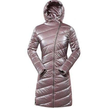 Dámský zimní kabát ALPINE PRO Omega 4 růžová