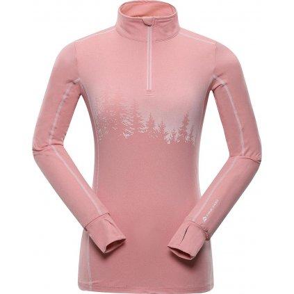 Dámské funkční triko ALPINE PRO Nevea 6 růžová