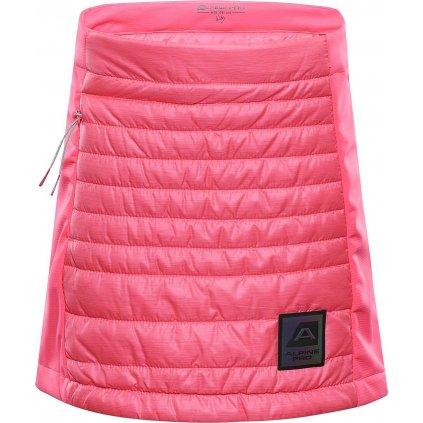 Dětská zimní sukně ALPINE PRO Trinito 6 růžová