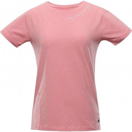 Dámské bavlněné triko ALPINE PRO Cedrika růžová