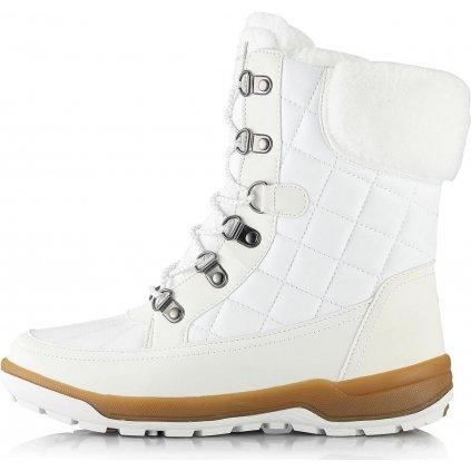 Dámské zimní boty ALPINE PRO Geraina bílá