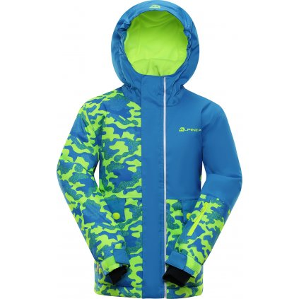 Dětská lyžařská bunda ALPINE PRO Intko modrá