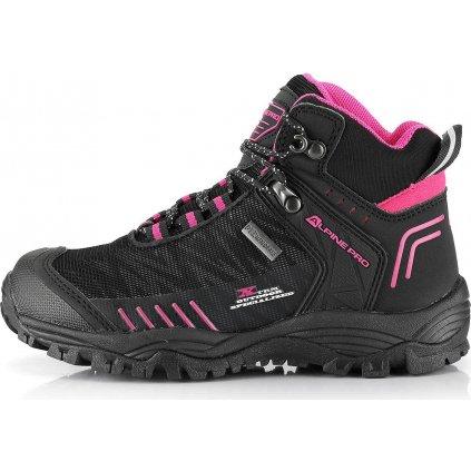 Dětské outdoorové boty ALPINE PRO Ovono růžová