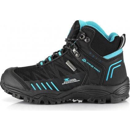 Dětské outdoorové boty ALPINE PRO Ovono modrá