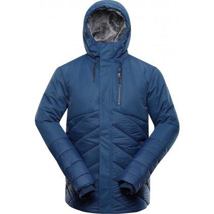Pánská zimní bunda ALPINE PRO Gabriell 4 modrá