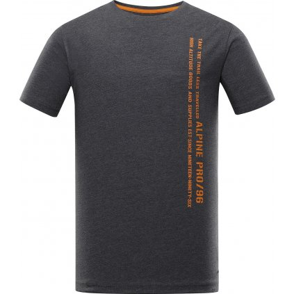 Pánské triko ALPINE PRO Bertol šedá