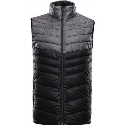 Pánská vesta ALPINE PRO Minik černá