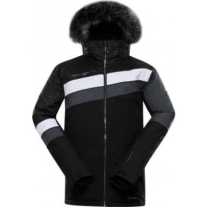 Pánská lyžařská bunda ALPINE PRO Dor 3 černá