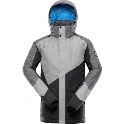 Pánská lyžařská bunda ALPINE PRO Sardar 3 šedá