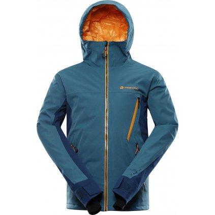 Pánská lyžařská bunda ALPINE PRO Mikaer 4 modrá