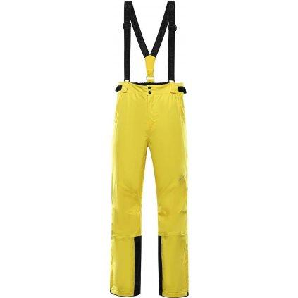 Pánské lyžařské kalhoty ALPINE PRO Sango 8 žlutá