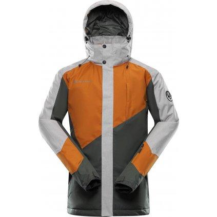Pánská lyžařská bunda ALPINE PRO Sardar 3 oranžová
