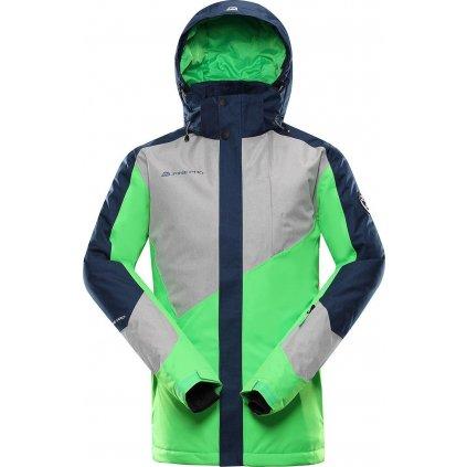 Pánská lyžařská bunda ALPINE PRO Sardar 3 zelená