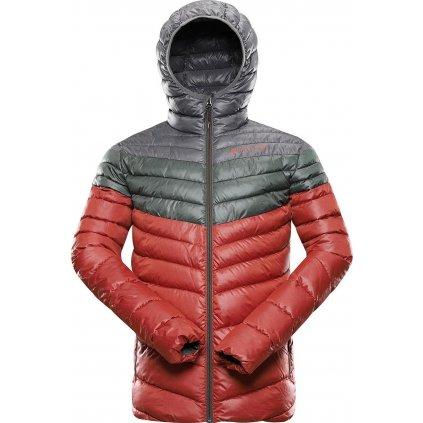 Pánská zimní bunda ALPINE PRO Merv červená