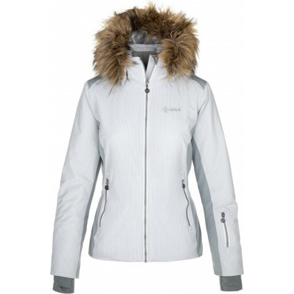 Dámská lyžařská bunda KILPI Malenay-w šedá