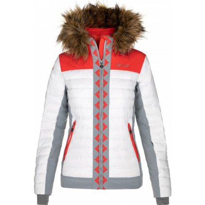 Dámská lyžařská bunda KILPI Taurel-w bílá