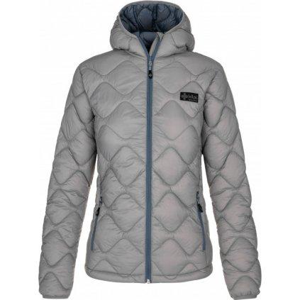 Dámská zimní bunda KILPI Rebeki-w šedá