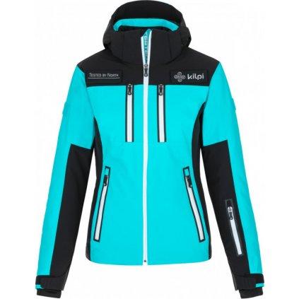Dámská lyžařská bunda KILPI Team jacket-w světle modrá