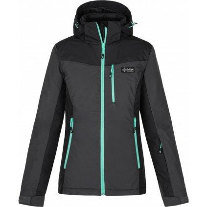 Dámská lyžařská bunda KILPI Flip-w tmavě šedá