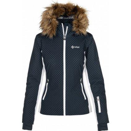 Dámská lyžařská bunda KILPI Malenay-w tmavě modrá