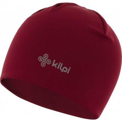 Sportovní čepice KILPI Hatch-u tmavě červená