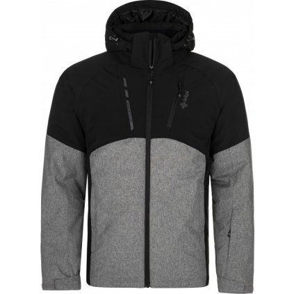 Pánská lyžařská bunda KILPI Tauren-m tmavě šedá