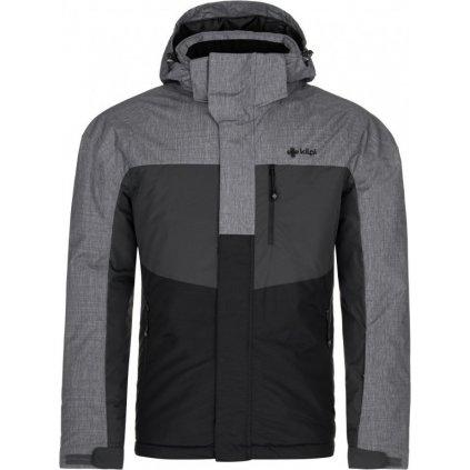 Pánská lyžařská bunda KILPI Ober-m šedá